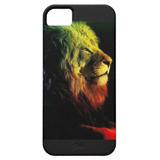 Ras Lion iPhone 5 Cover