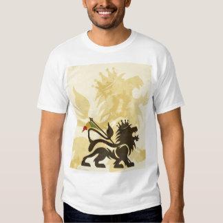 Ras Lion Tan Tshirts