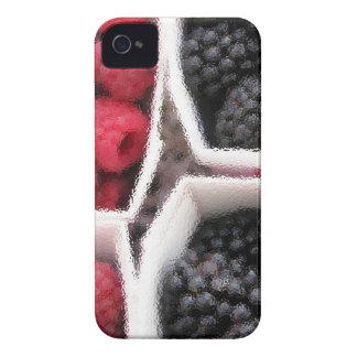 Rasberries and Blackberries iPhone 4 Case-Mate Cases