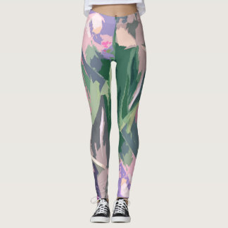 RASBERRY GREEN LEGGINGS