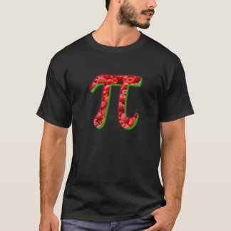 Rasbperry and Pi Symbol T-Shirt