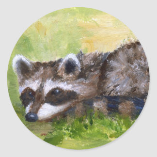 Rascal aceo Raccoon Sticker