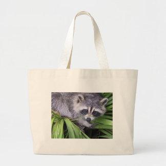 Rascal Racoon Jumbo Tote Bag