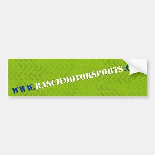 rasch motorsports bumper sticker