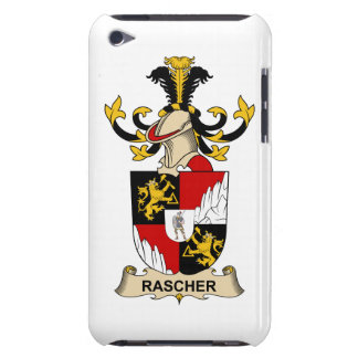 Rascher Family Crest Barely There iPod Cover