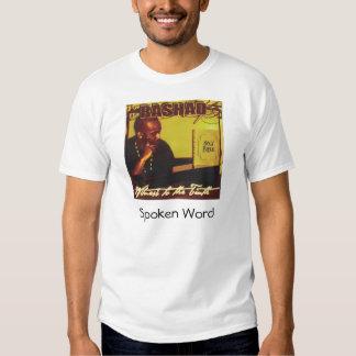 rashad, Spoken Word Tee Shirt
