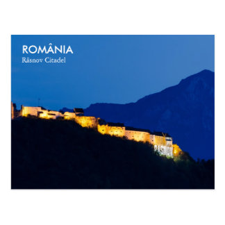Rasnov Fortress in Romania Poscard Postcard
