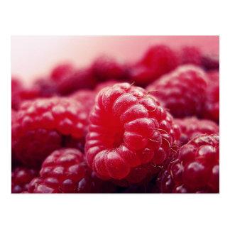 Raspberries 6 postcard