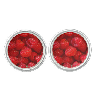 Raspberries Cuff Links