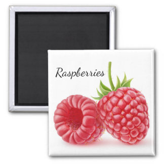 Raspberries Magnet