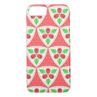 Raspberries Pattern Case