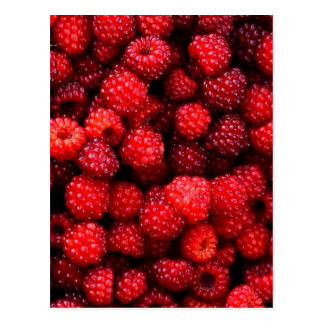 Raspberries Postcards