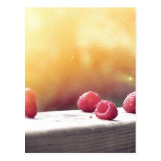 Raspberries Post Card
