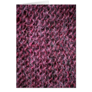 Raspberry Alpaca Twist Card