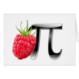 Raspberry and Pi symbol Card