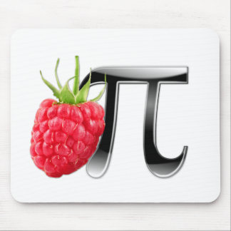 Raspberry and Pi symbol Mouse Mat