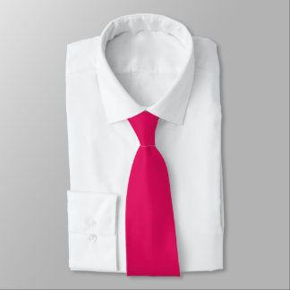 Raspberry Color Tie