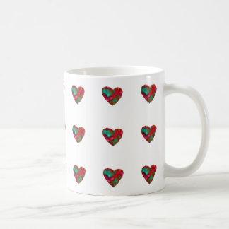 Raspberry Heart Mug