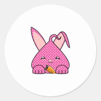 Raspberry Hopdrop Round Sticker