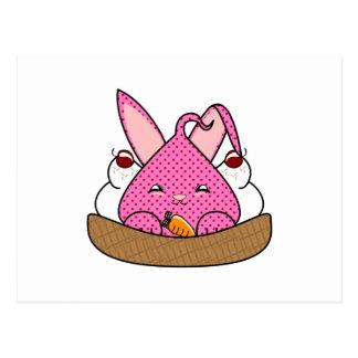 Raspberry Hopdrop Waffle Sundae Postcards