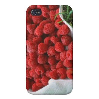 Raspberry iPhone 4/4S Cases