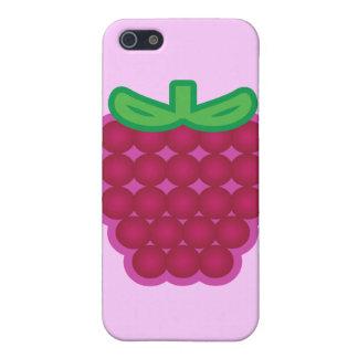 Raspberry iPhone 5/5S Cases