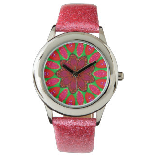 Raspberry Jam Fractal Watch