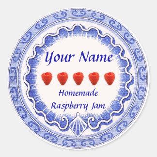 Raspberry Jam Label Personalize