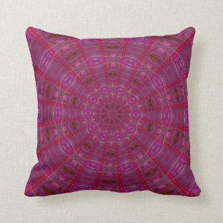 Raspberry Kaleidoscope Pillows