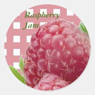 Raspberry Label