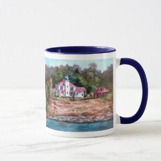 Raspberry Lighthouse Mug II