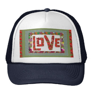 RASPBERRY Love :  Ideal Romantic Gift Trucker Hat