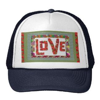 RASPBERRY Love Ideal Romantic Gift Mesh Hats