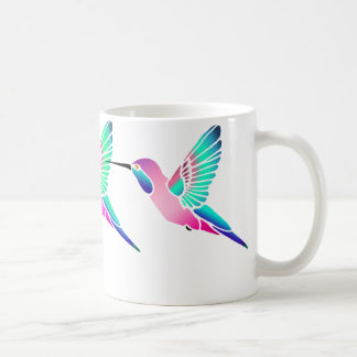 Raspberry Mint Sorbet Hummingbirds Coffee Mug