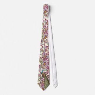 Raspberry Paisley Tie