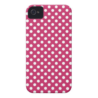 Raspberry Polka Dot Blackberry Bold Case