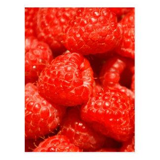 Raspberry Postcard