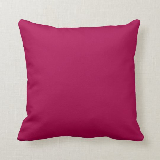 Raspberry Red Pink Solid Trend Colour Background Throw
