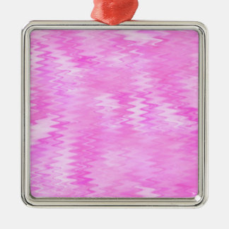 Raspberry Ripple Effect Pink Abstract Pattern Christmas Ornament