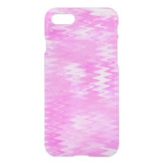 Raspberry Ripple Effect Pink Abstract Pattern iPhone 7 Case