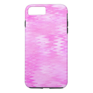 Raspberry Ripple Effect Pink Abstract Pattern iPhone 7 Plus Case