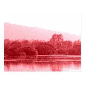 Raspberry Riverbank Post Cards