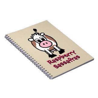 Raspberry Sassafras Notebook