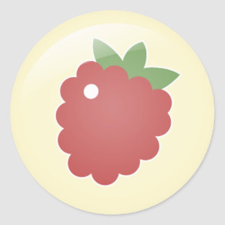 Raspberry Stickers