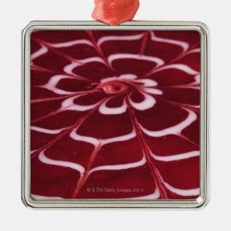 Raspberry tart christmas ornament