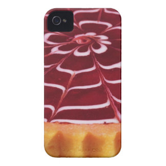 Raspberry tart iPhone 4 Case-Mate cases