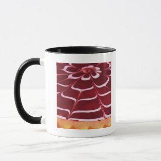 Raspberry tart mug