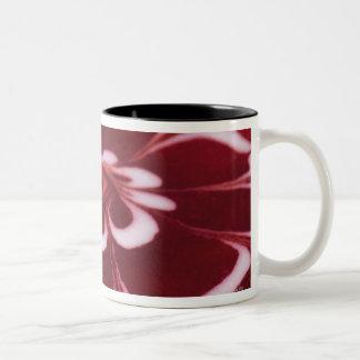 Raspberry tart Two-Tone coffee mug