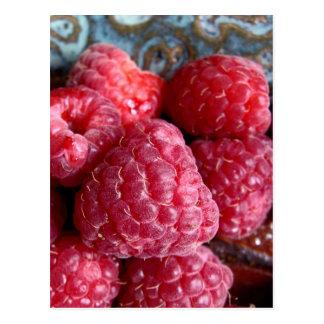 Raspberry Treat Postcard