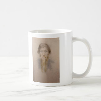 Rasputin, When the bell tolls three times,it wi... Basic White Mug